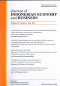 Journal of Indonesian Economy and Business : vol.33 No.1 January 2018