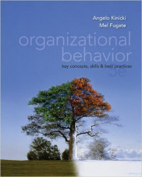 Image of Organizational Behavior: key concepts, skills & best practices